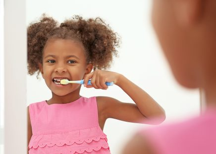 Back to school – helping your children with tooth brushing routines