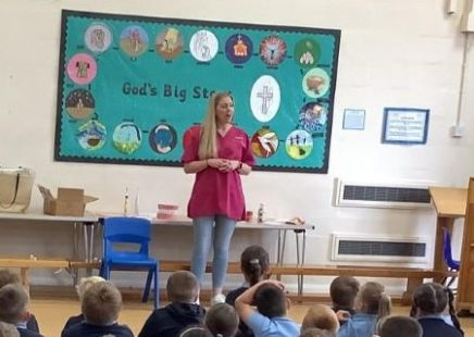 Our Wonderful Emma and Oral Health Education Sessions