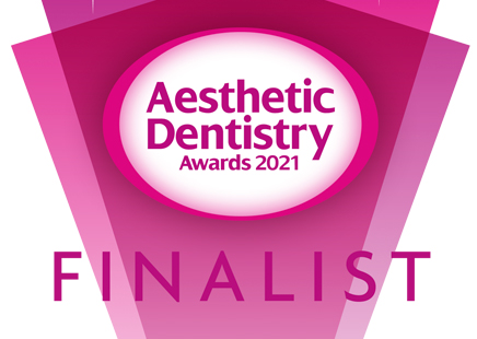 Sarah is a FINALIST in the UK AESTHETIC DENTISTRY AWARDS
